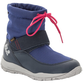 Jack Wolfskin Kiwi WT Texapore Chaussures Enfant, dark blue/red